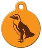 Dog Tag Art Penguin Print Pet ID Dog Tag