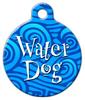 Dog Tag Art Water Dog Pet ID Dog Tag
