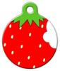 Dog Tag Art Strawberry Pet ID Dog Tag