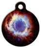 Dog Tag Art Eye Nebula Space Pet ID Dog Tag