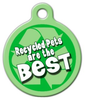 Dog Tag Art Recycled Pet ID Dog Tag