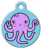 Dog Tag Art Octopus Pet ID Dog Tag