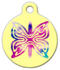 Dog Tag Art Flutter By Pet ID Dog Tag