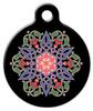 Dog Tag Art Nouveau Arabesque Pet ID Dog Tag