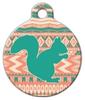 Dog Tag Art Squirrel Hunt Tribal Pet ID Dog Tag