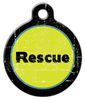 Dog Tag Art Rescue Pet ID Dog Tag