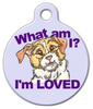 Dog Tag Art Rescue Mutt Pet ID Dog Tag