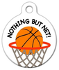 Dog Tag Art Nothing But Net Pet ID Dog Tag