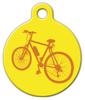 Dog Tag Art Bicycle Custom Pet ID Dog Tag
