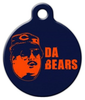 Dog Tag Art Da Bears Chicago Bears Pet ID Dog Tag