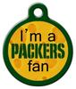 Dog Tag Art Packers Fan Pet ID Dog Tag