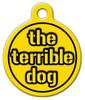 Dog Tag Art Steelers Terrible Dog Pet ID Dog Tag