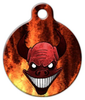 Dog Tag Art Demon Pet ID Dog Tag