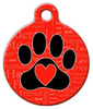 Dog Tag Art A Dog's Word Pet ID Dog Tag