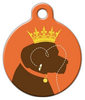 Dog Tag Art Queen Bee Pet ID Dog Tag