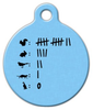 Dog Tag Art Kill Count Pet ID Dog Tag