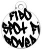 Dog Tag Art Tagged Pet ID Dog Tag