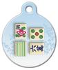Dog Tag Art Mahjong Pet ID Dog Tag