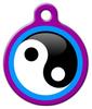 Dog Tag Art Yin Yang Pet ID Dog Tag