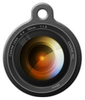 Dog Tag Art Camera Lens Pet ID Dog Tag