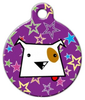 Dog Tag Art Dog Star Pet ID Dog Tag