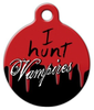 Dog Tag Art Vampire Hunter Pet ID Dog Tag