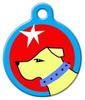 Dog Tag Art Go Get It Pet ID Dog Tag