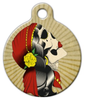 Dog Tag Art Old n' Tattered Designer Pet ID Dog Tag