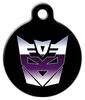 Dog Tag Art Decepticats Transformers Pet ID Dog Tag