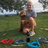 Sammy and His Mom with full series Coastal Pet Rope Leashes