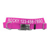 Coastal Pet Metal Buckle Adjustable Nylon Dog Collar Personalized (61401E)