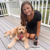 Mylo and his mom love the Coastal Pet Ribbon Dog Harness
