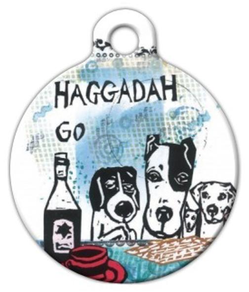 Dog Tag Art Haggadah Go Pet ID Dog Tag