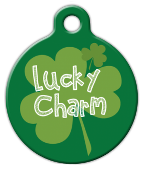 Dog Tag Art Lucky Charm Pet ID Dog Tag
