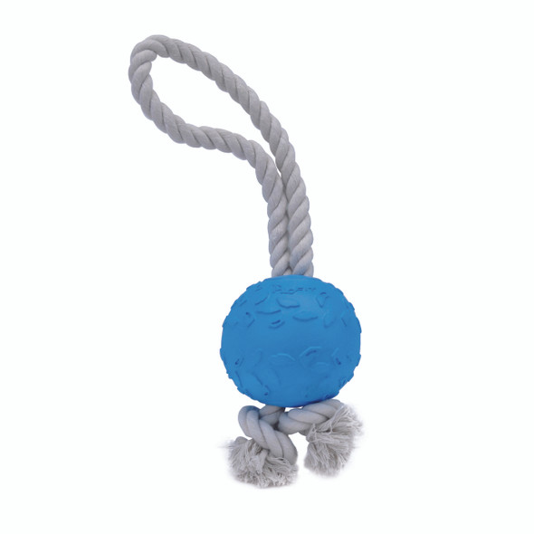 Pro Fit Foam Dog Toy Rope Ball 13 Inch (84800BLLDOG)