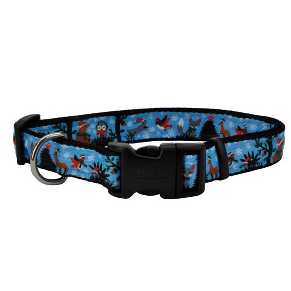 Celebration Christmas Dog Collar (06428PCH) CH1 Woodland Cuties