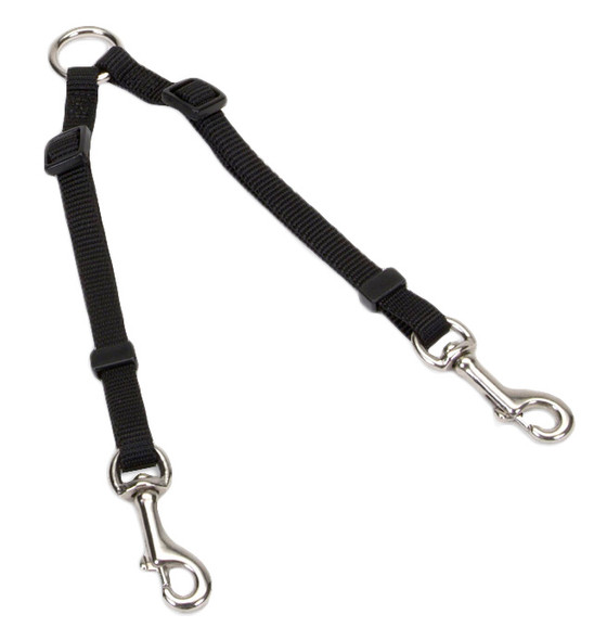 Coastal Pet 2 Dog Adjustable Nylon Coupler (369)