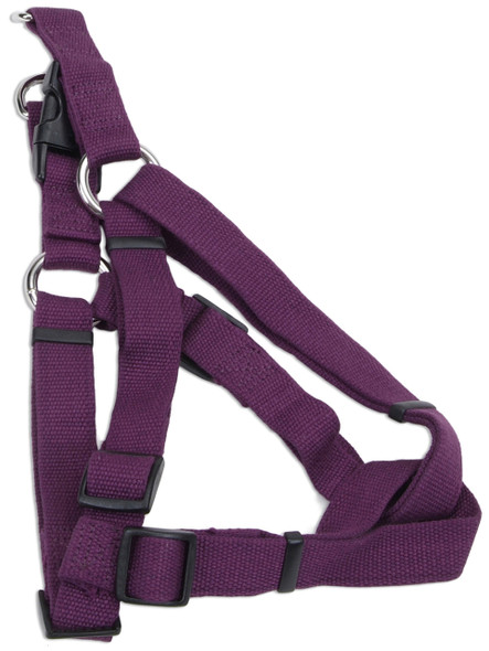 Coastal Pet Soy Adjustable Comfort Wrap Harness Eggplant
