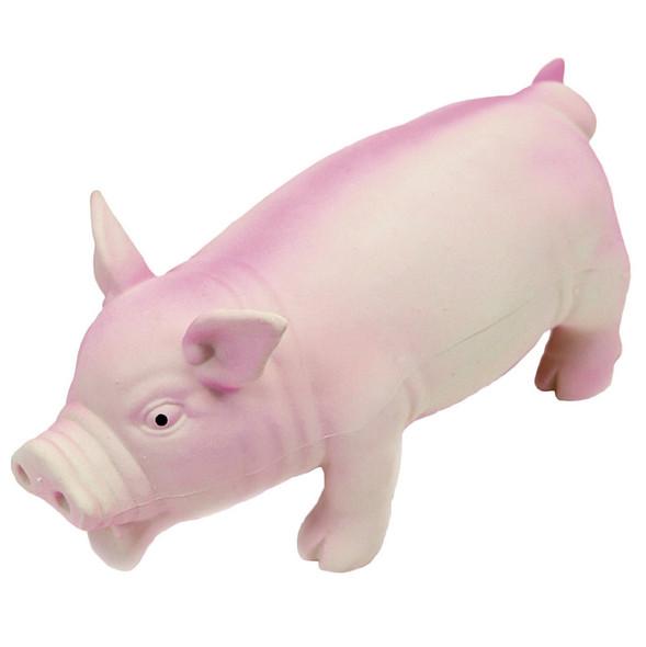 "Rascals Grunt Dog Toy Grunting Pig Pink 7.5"" (83052RPNKDOG)"