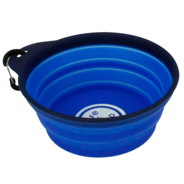 Life Is Good® Collapsible Travel Bowl (08592DBLU20)