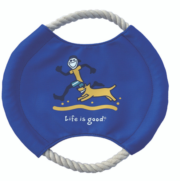 Life Is Good Jack and Rocket Disc Dog Toy