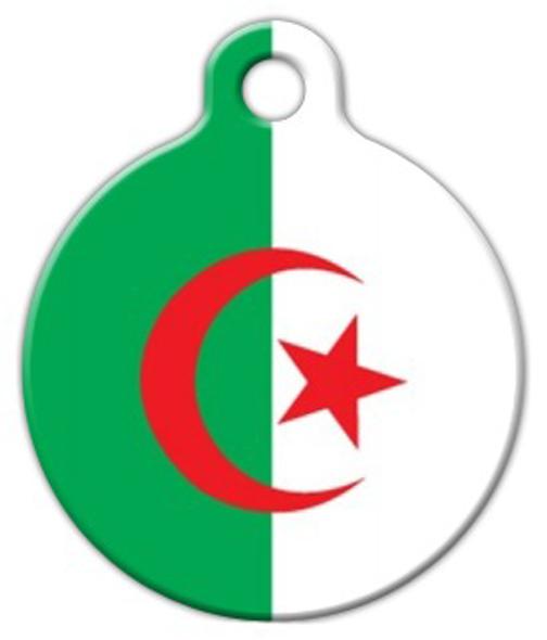 Dog Tag Art Algerian National Flag Pet ID Dog Tag