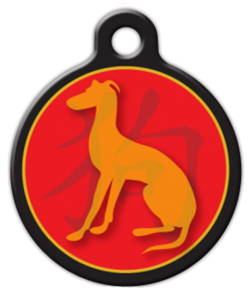 Dog Tag Art Chinese Zodiac Dog Custom Pet ID Dog Tag
