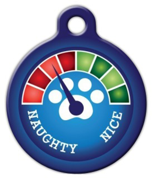 Dog Tag Art Christmas Meter Needs Improvement! Pet ID Dog Tag