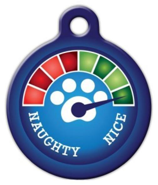 Dog Tag Art Christmas Meter Very Nice! Pet ID Dog Tag