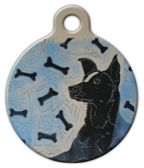Dog Tag Art atmuttsphere Pet ID Dog Tag