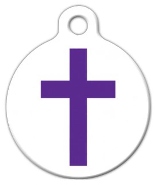 Dog Tag Art Christian Cross Pet ID Dog Tag