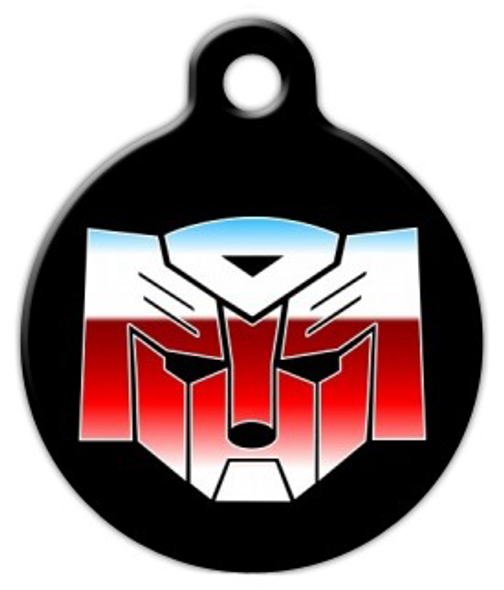 Dog Tag Art Autodogs Transformers Pet ID Dog Tag