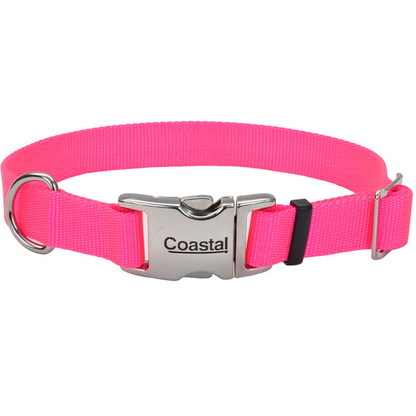 Coastal Pet Metal Buckle Adjustable Nylon Dog Collar (61401)