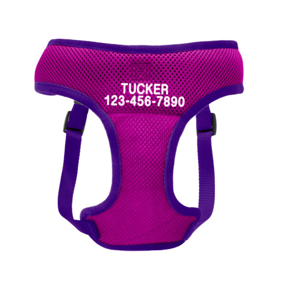 Coastal Pet Comfort Soft Wrap Adjustable Dog Harness Personalized